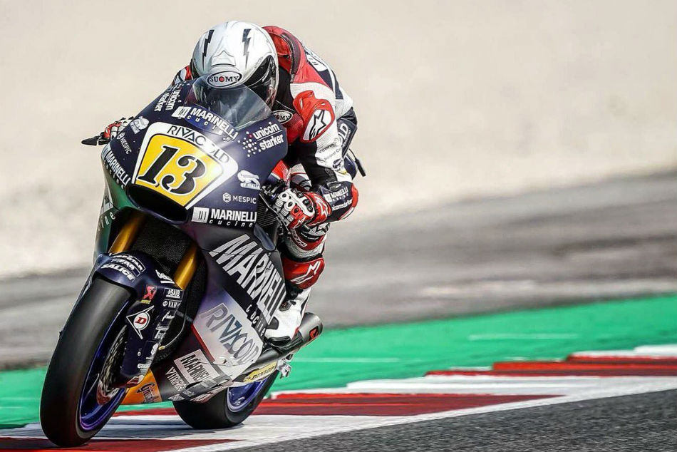 Romano Fenati is in the eye of a storm.