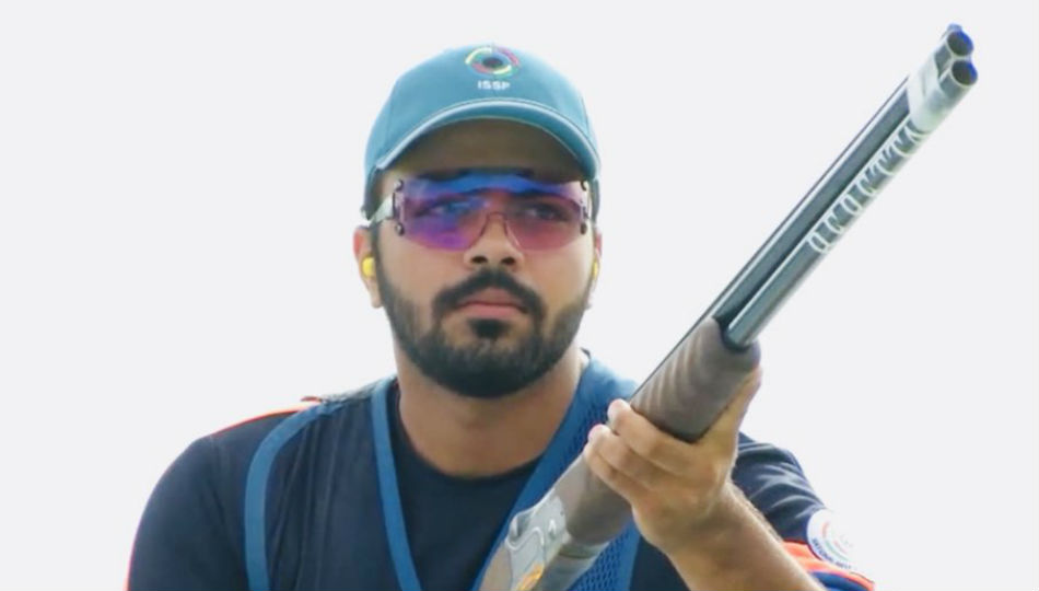 Gurnihal Singh Garcha of Indian junior mens skeet team (Image: SAI Twitter)