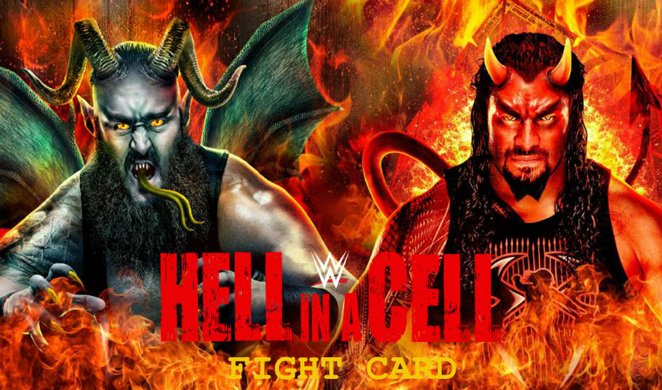 WWE Hell in a Cell PPV poster