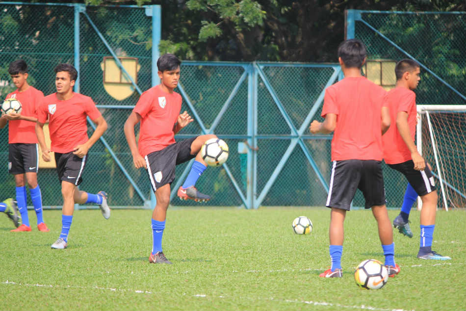 Afc U 16 A Win Away From Fifa U 17 World Cup Underdogs India Gear Up To Face Korea Republic