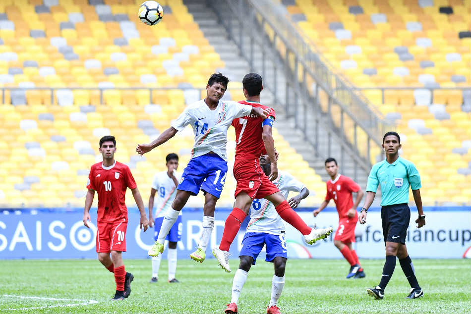 Afc U 16 Championship Defiant India Bank On Niraj S Heroics To Hold Iran To 0 0 Draw
