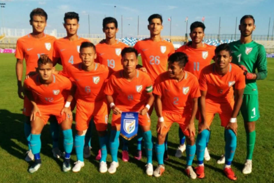 The Indian under 19 team went down fighting to France in Zagreb on Sunday. Credit: AIFF