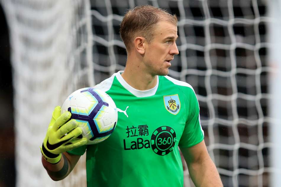 England and Burnley goalkeeper Joe Hart