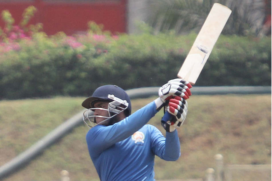 Kedar Devdhar made a quick hundred as Baroda defeated Karnataka in the Vijay Hazare Trophy