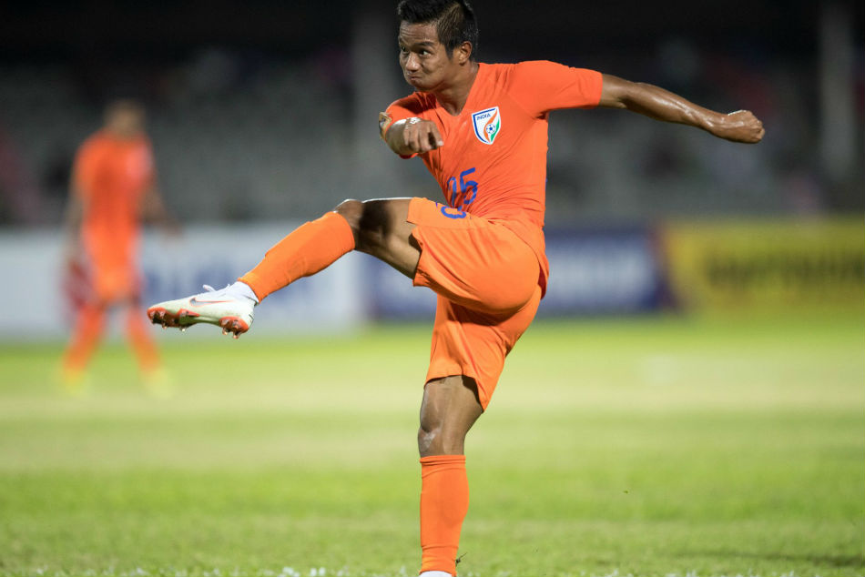 Lallianzuala Chhangte will miss the SAFF Cup final against Maldives