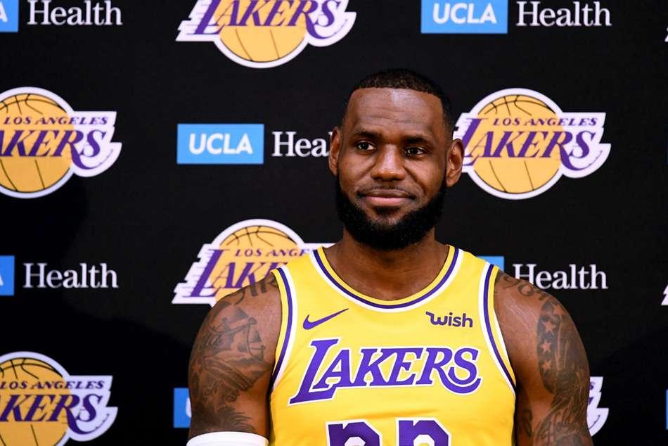 Lebron James La Lakers Media Day Golden State Warriors Nba
