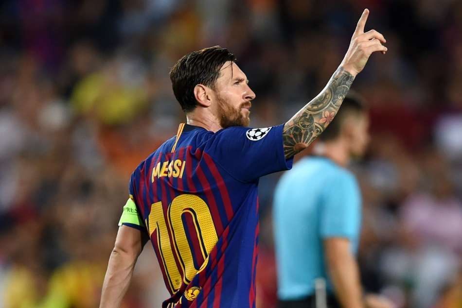 Champions League Marvellous Messi Lights Up Camp Nou Inter Shock Tottenham