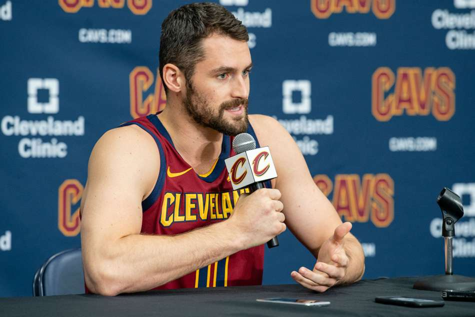 Nba News Kevin Love Cleveland Cavaliers Lebron James 2018 19 We Are Going To Be A Team That Will Surprise A Lot Of People