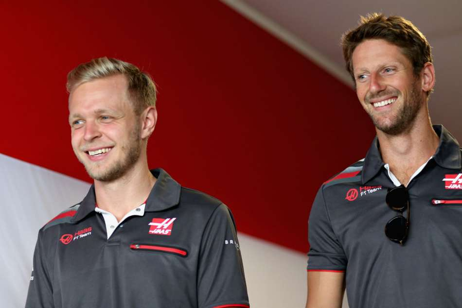 Magnussen and Grosjean to remain with Haas for the 2019 Formula One season