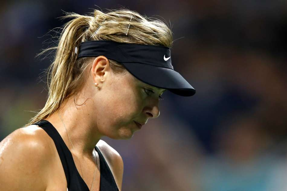 Maria Sharapova Injury Season Over Wta