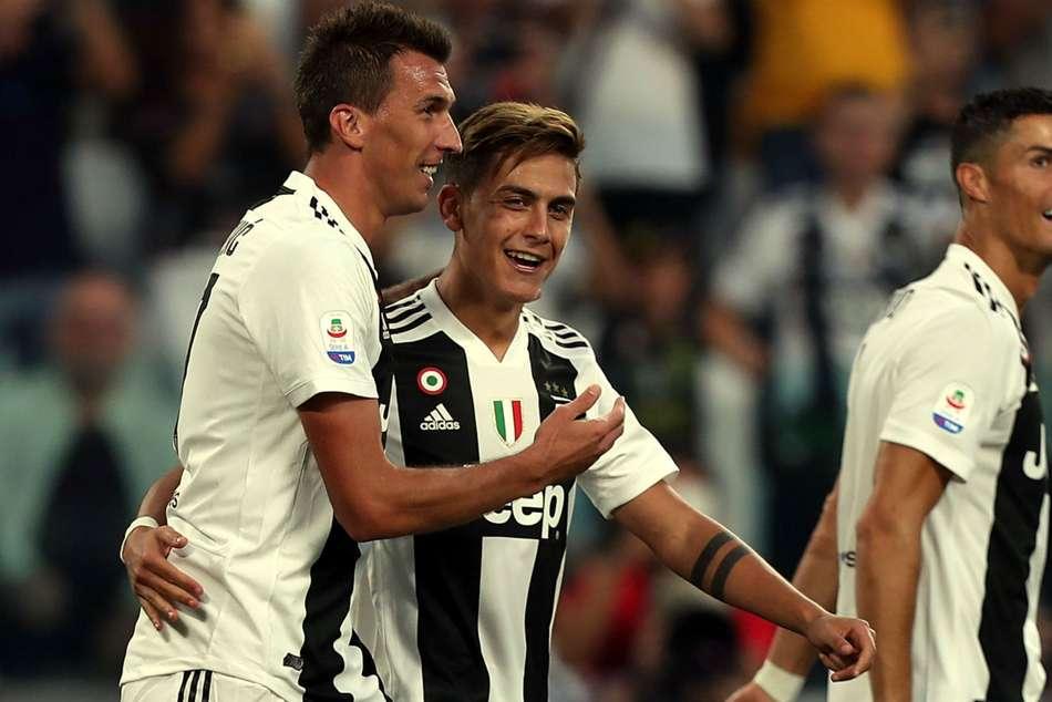 Juventus Napoli Mario Mandzukic Serie A