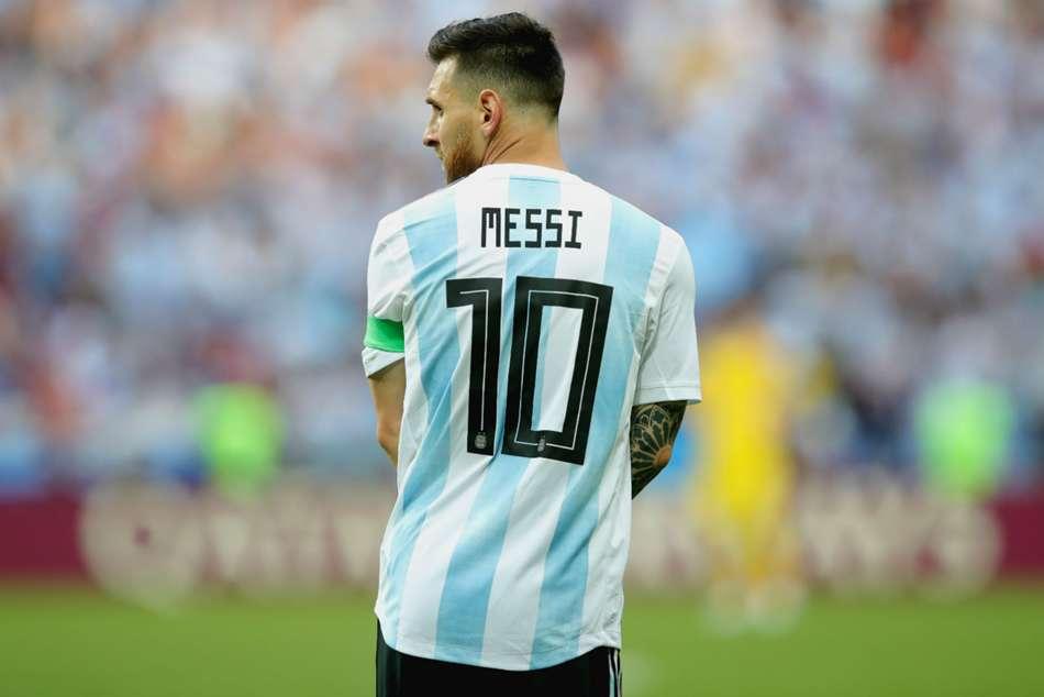 Lionel Messi 10 Argentina Scaloni