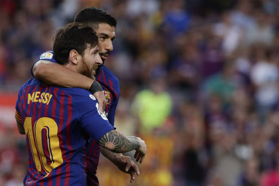 Barcelona Rout Huesca Go On Top La Liga Standings