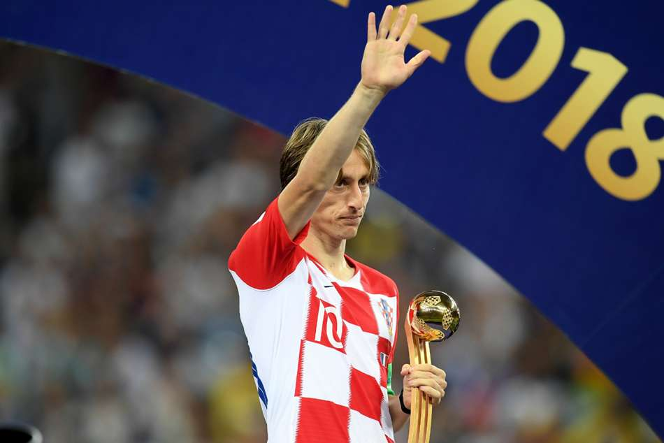 Rakitic Messi Modric Croatia