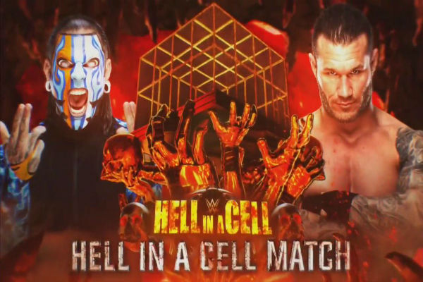 Jeff Hardy vs. Randy Orton (Hell in a Cell Match)