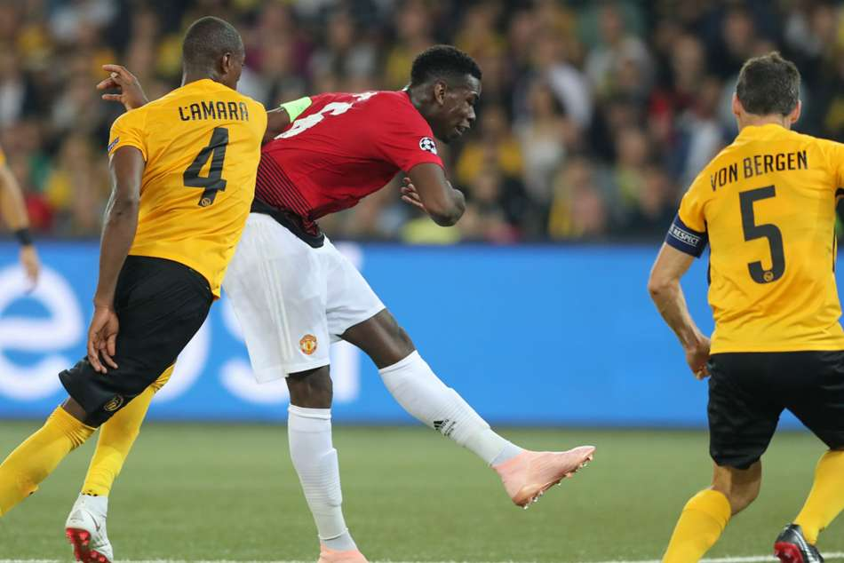 Champions League Paul Pogba Double Inspires Manchester United