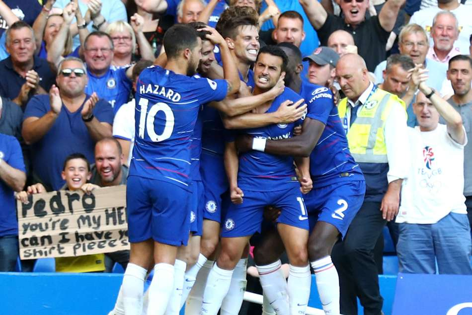 Chelsea Bournemouth Match Report Pedro Eden Hazard Goals Premier League