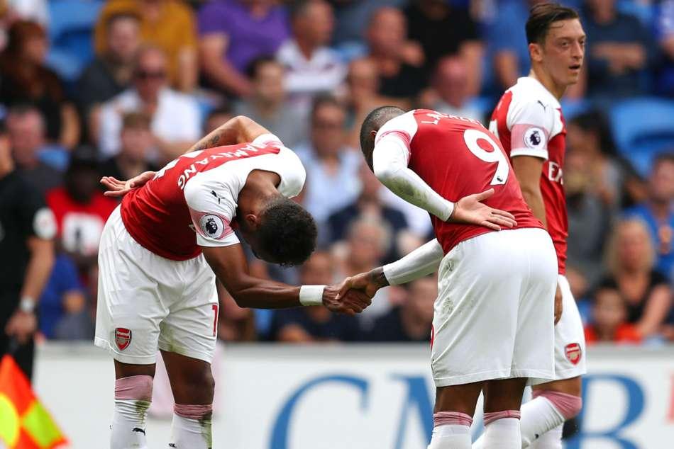 Cardiff City Arsenal Aubameyang Lacazette Premier League