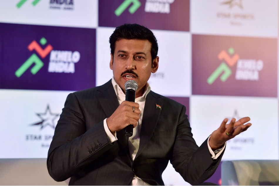 Funding 2022 Asiad Cwg Continue Despite Focus On 2020 Olympics Rajyvardhan Singh Rathore