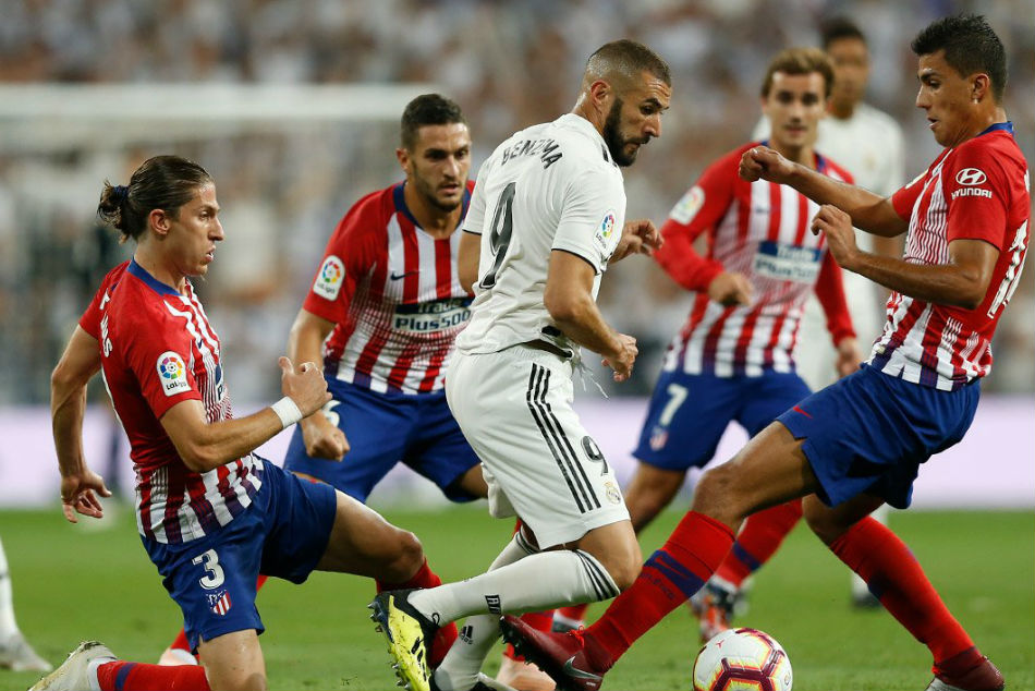 Real Madrid and Atletico draw a blank (Image Courtesy: Twitter)