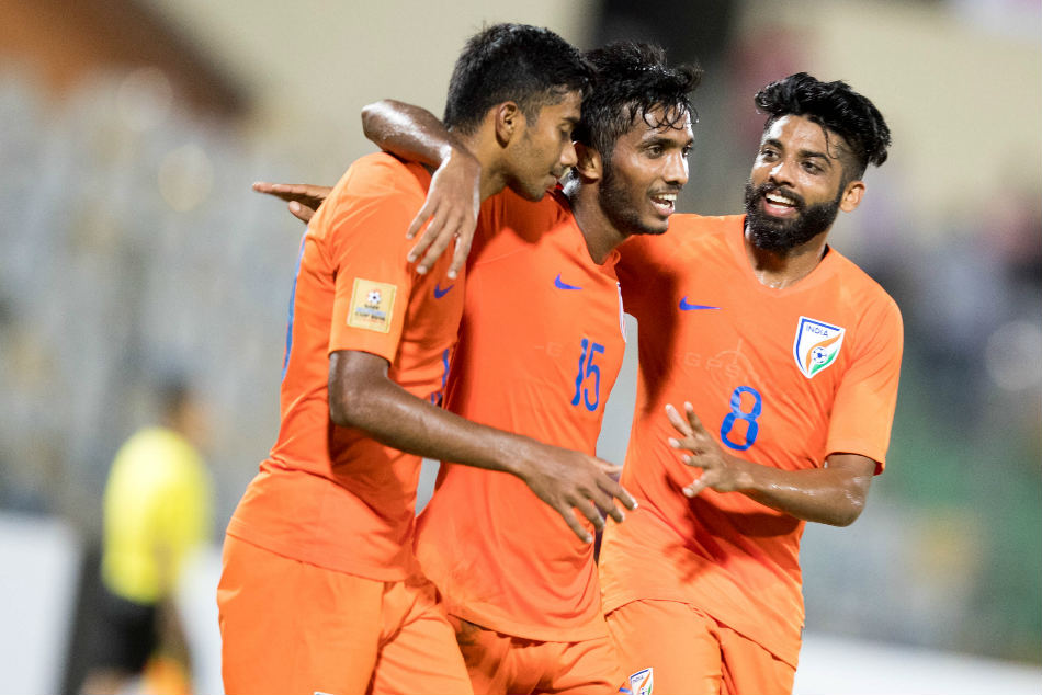 Saff Cup 2018 India Ease Past Maldives Book Semifinal With Pakistan