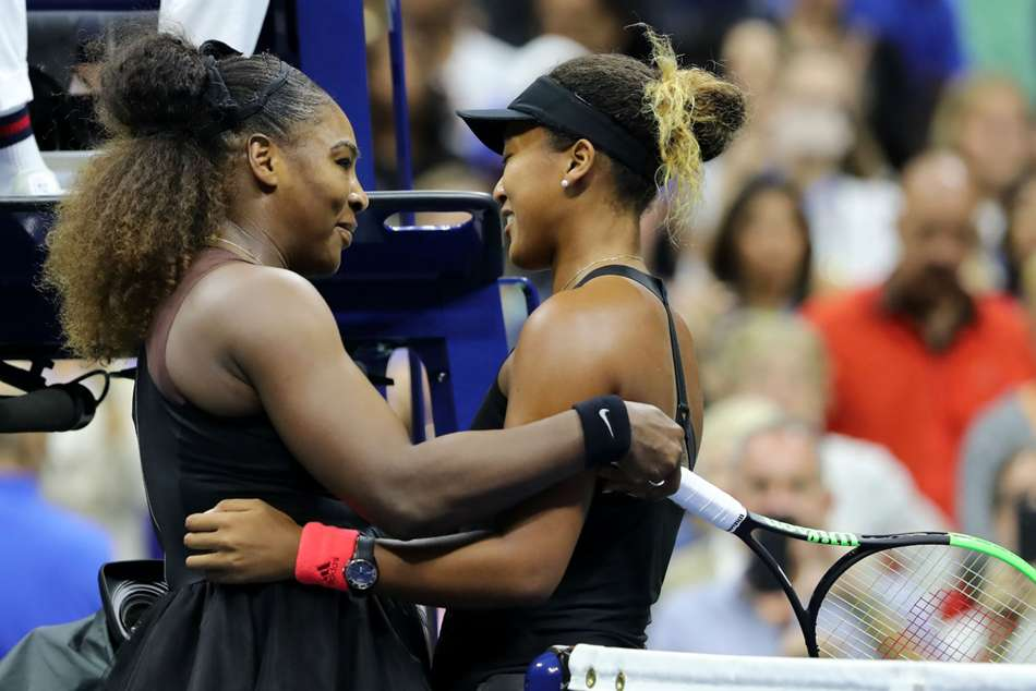 Serena Williams told Naomi Osaka she was proud of her after the Japanese stars US Open win.