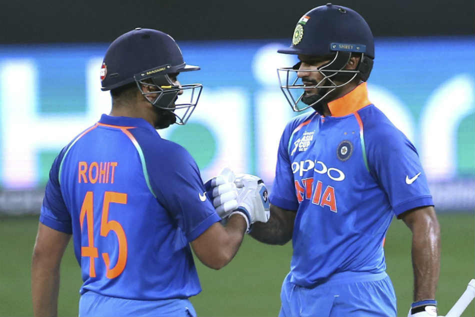 Shikhar Dhawan and Rohit Sharma had scored a first-round win over Pak pacers led by Mohammad Amir