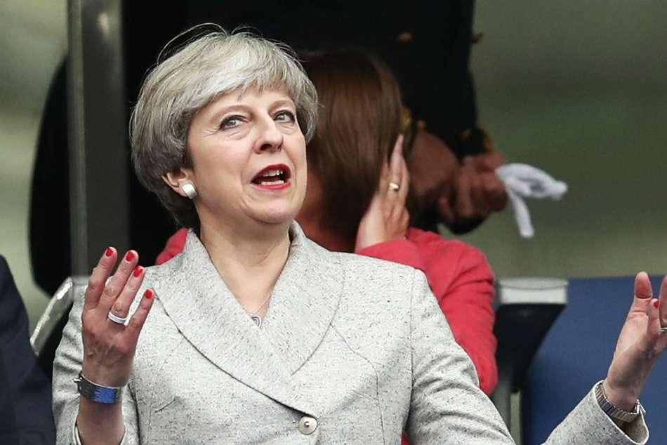 Uk Government 2030 World Cup Bid Theresa May