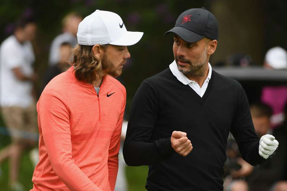 Ryder Cup 2018 Europe Tommy Fleetwood Pep Guardiola