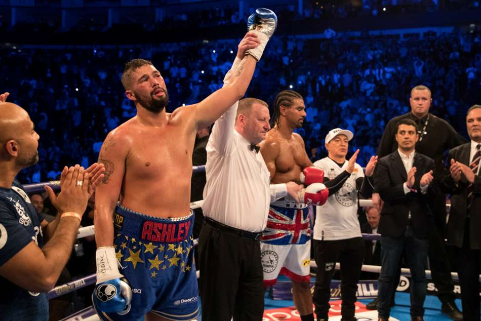 Tony Bellew can spring an upset on Oleksandr Usyk, says David Haye.