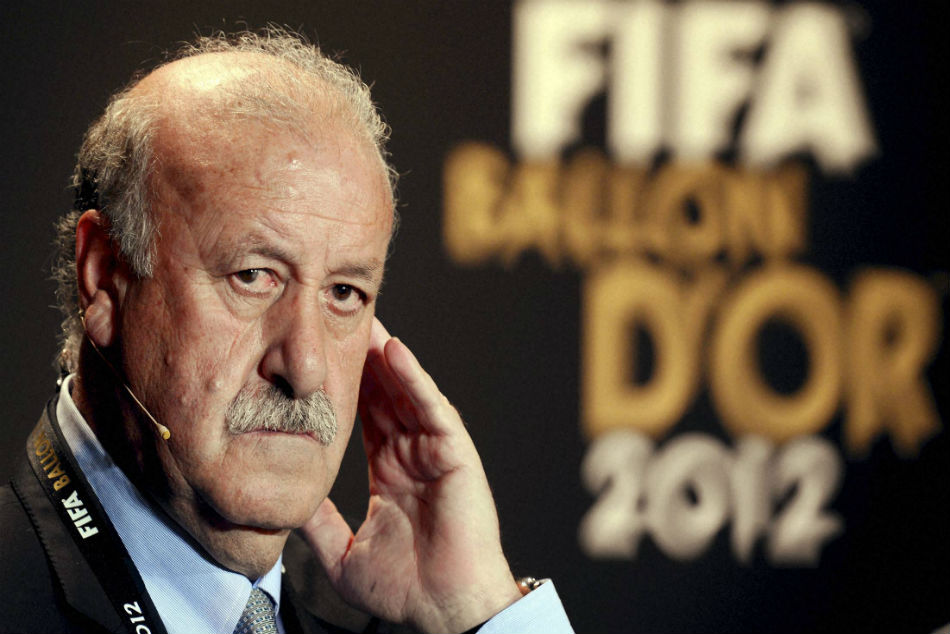 Spains World Cup-winning coach Vicente del Bosque
