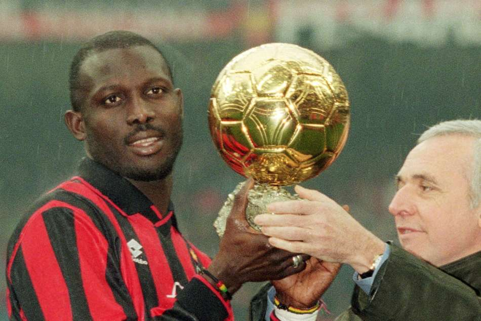 George Weah, Liberia president and former footballer