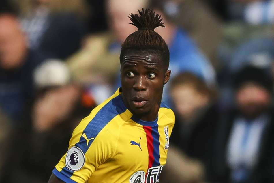 Crystal Palace Wilfried Zaha Manchester United Depressed