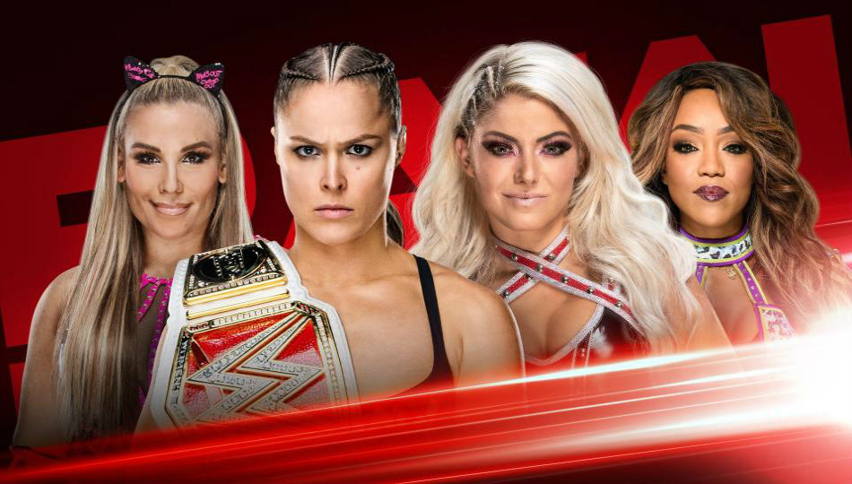 Women tag team action set for WWE Raw (image courtesy WWE.com)