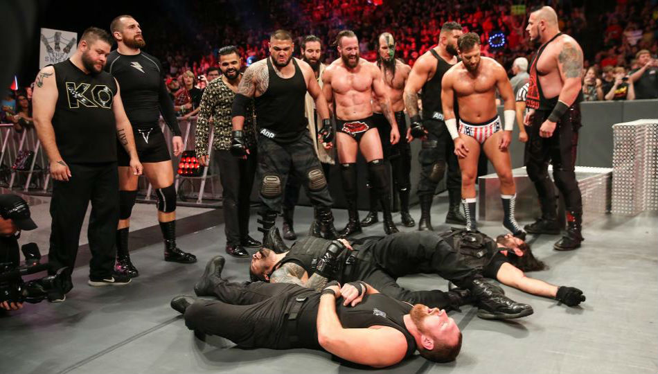 update on the shield after beatdown on wwe raw mykhel. Black Bedroom Furniture Sets. Home Design Ideas
