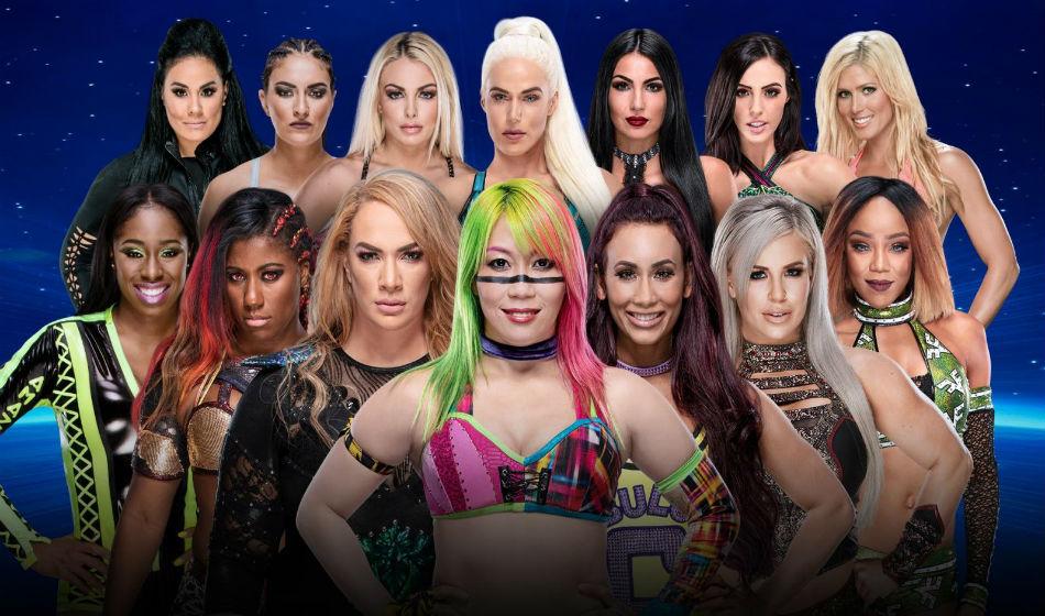 Historic Women S Battle Royal Match Announced Wwe Evolution Ppv