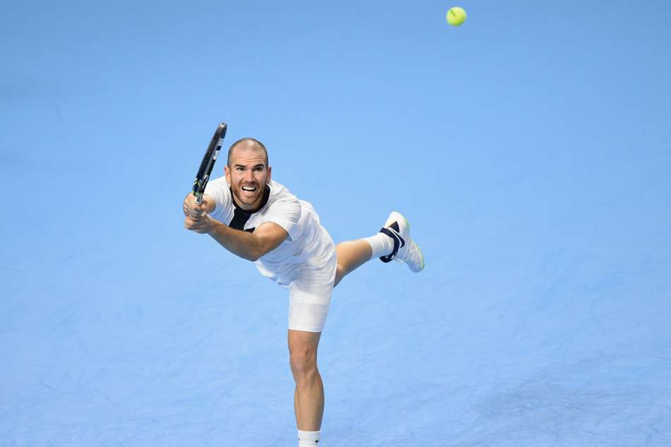 Adrian Mannarino Beats Evgeny Karlovskiy Kremlin Cup Atp Tennis