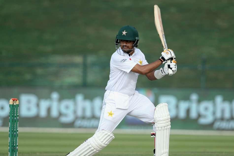 Pakistan Australia Second Test Abu Dhabi Babar Azam 99 Azhar Ali