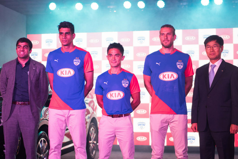The partnership will now see Bengaluru FC turn out with the Kia logo emblazoned in the front of the club shirt.
