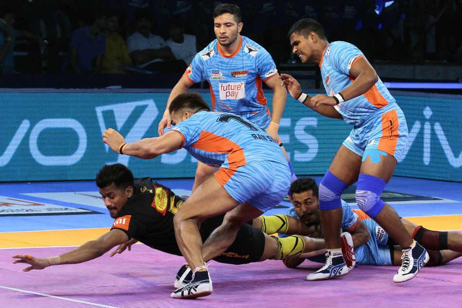 Pkl 2018 Bengal Warriors Edge Telugu Titans