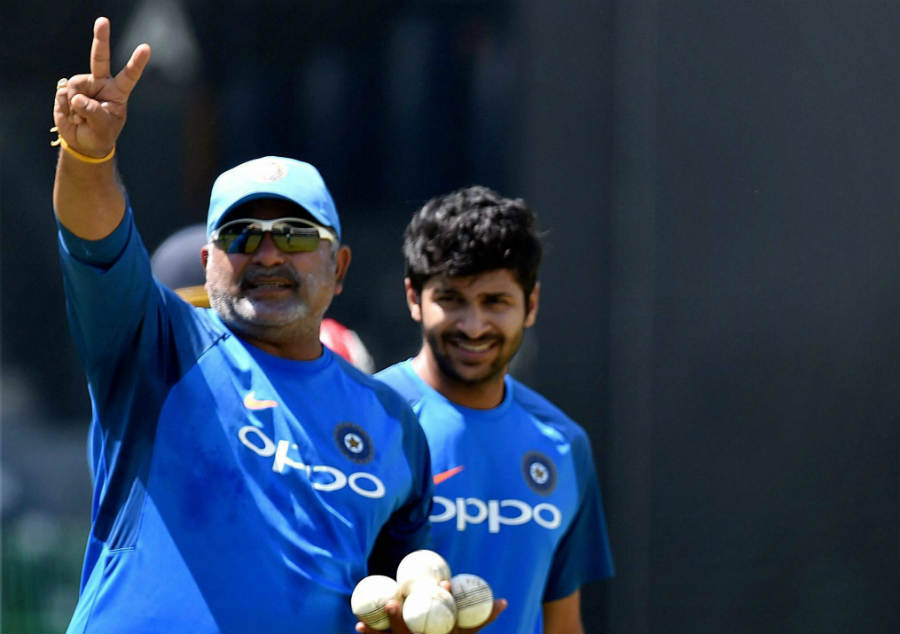 Indias bowling coach Bharat Arun is happy to see the progress of his wards