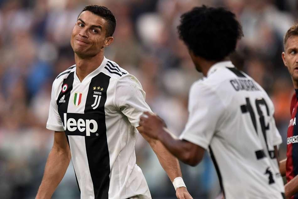 Juventus 1 Genoa 1 Champions Winning Run Ends Despite Record Ronaldo Goal