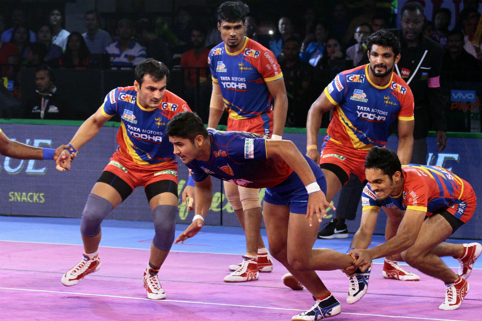 PKL 2018: UP Yoddha edge Dabang Delhi 38-36 in a thriller