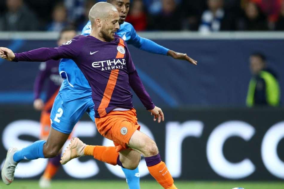 Hoffenheim 1 Manchester City 2 Silva Settles It Late On