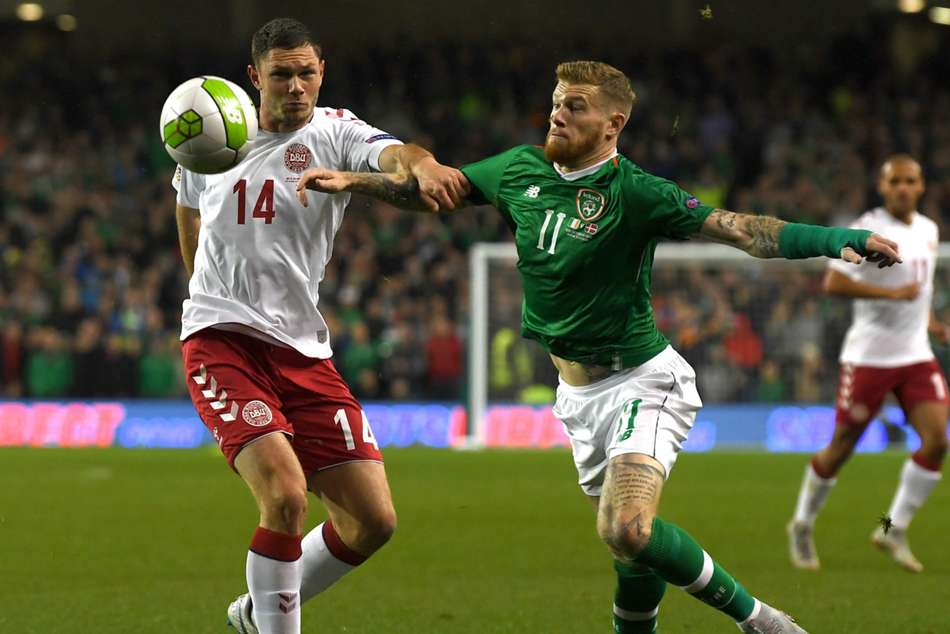 Denmark and Ireland play out goalless draw
