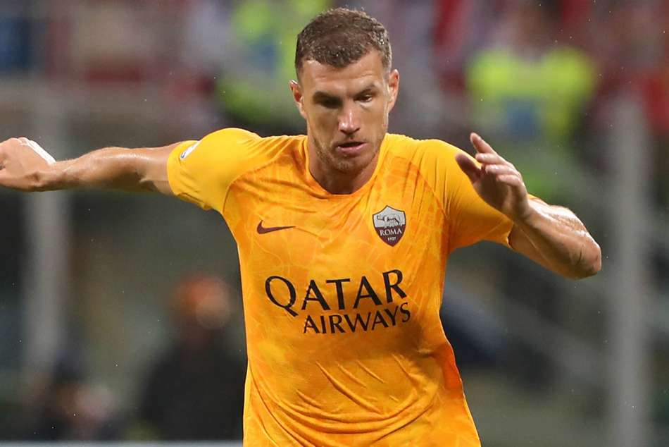 Edin Dzeko Premier League Roma