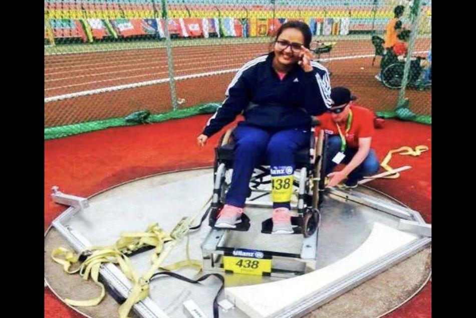 Asian Para Games Ekta Bhyan Wins Club Throw Gold India Jakarta