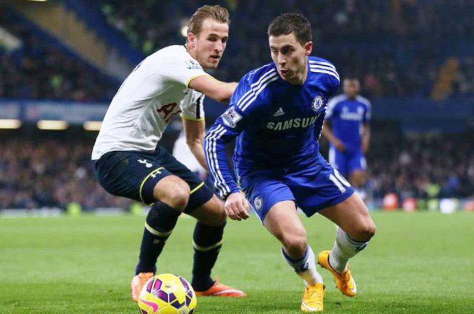 Premier League stars Harry Kane (left) and Eden Hazard linked with Real Madrid