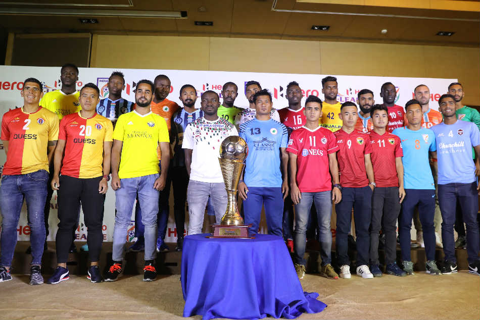 Hero I League 11 Clubs From 10 States Vie Top Honours The 12th Edition