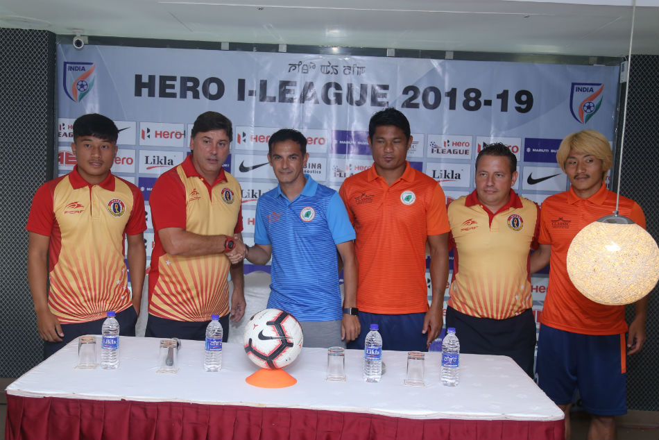 Both Neroca and East Bengal look equally balanced on paper. Image: AIFF Media